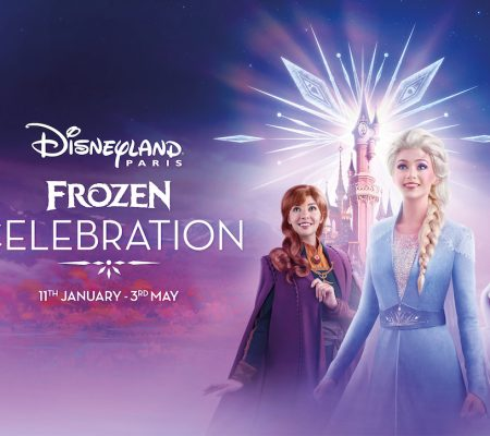 logo disneyland frozen celebration